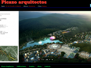 Web Picazo Arquitectos para lanzamiento en China