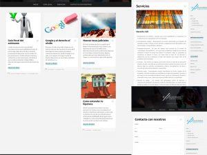 Diseño Web Jurídica