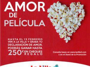 """""""Amor de película"""" en el Centro Comercial La Villa"""