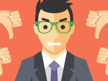 El mayor error al hacer una web empresarial