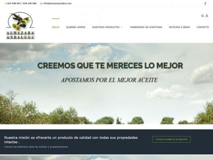 DESARROLLO WEB ALMAZARA ANDALUSI