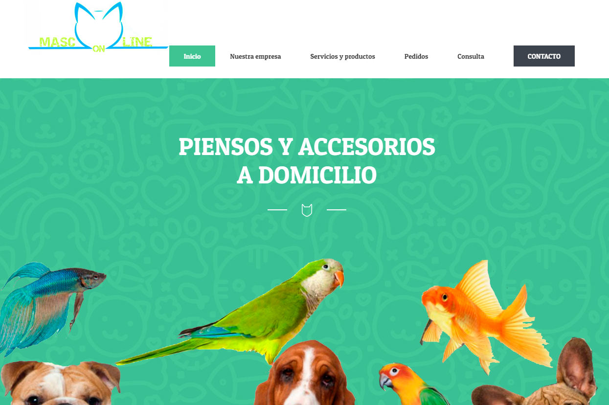 MASCONLINE renueva su página web